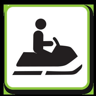 Arcadia-mobile-park-Ontario-Canada-Snowmobile